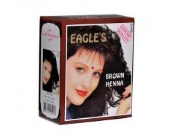 Hedisam Henna Eagles 6 Lı Hint Kınası Kahverengi